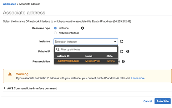 How to install WordPress on Amazon Web Services 15